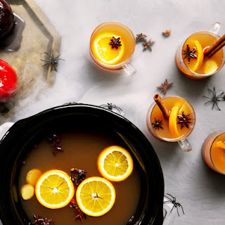 Slow Cooker Spiked Mulled Cider.