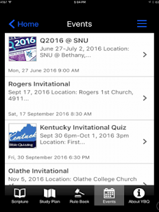 Youth Bible Quiz 16- screenshot thumbnail