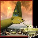 Army Airplane Tank Cargo icon