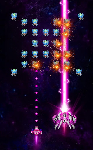 Space shooter - Galaxy attack - Galaxy shooter apktram screenshots 8