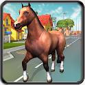 Crazy horse destroy Simulator icon
