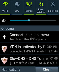 VPN Over DNS  Tunnel : SlowDNS v60