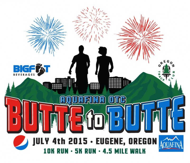 41st Annual Butte to Butte occurring Saturday, July 4, 2015 in Eugene, Oregon.
