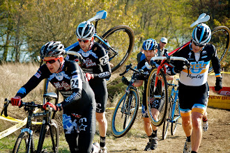 Photo: Steilacoom is synonymous with suffering, especially on a MTB-style course that featured a triple-barrier runup.