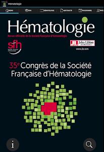 Hématologie congrès SFH 2015 screenshot 6