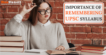 Importance of Remembering UPSC Syllabus