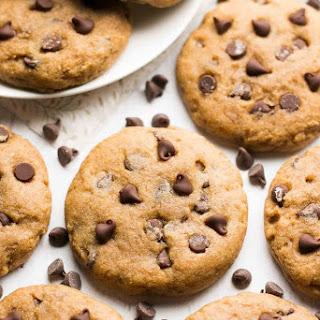 Healthy Banana Chocolate Chip Cookies.