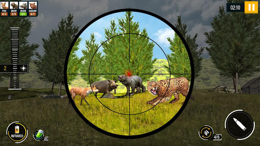 Wild Animal Hunting 2020 Free 1.4 screenshots 5