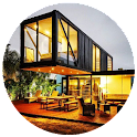 Cargo Container House icon