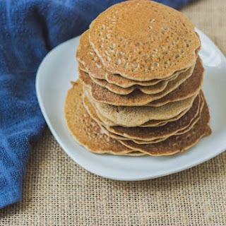 Simple Soaked Buckwheat Pancakes + Two Variations