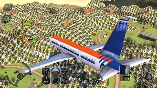 Take off Airplane Pilot Race Flight Simulator 5