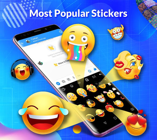 TouchPal Keyboard-Cute Emoji,theme, sticker, GIFs 6.8.6.0 screenshots 2
