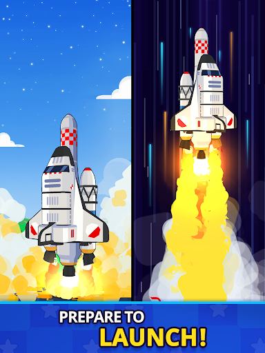 Rocket Star - Idle Space Factory Tycoon Game android2mod screenshots 10