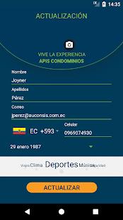 ApisCondominios App - náhled