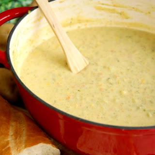 Easy Creamy Vegetable Soup Recipe