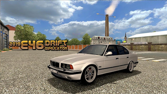 E46 drift and Driving area simulator 2019 apk free download