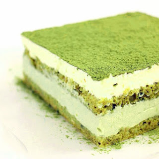 Matcha Green Tea Tiramisu (recipe)