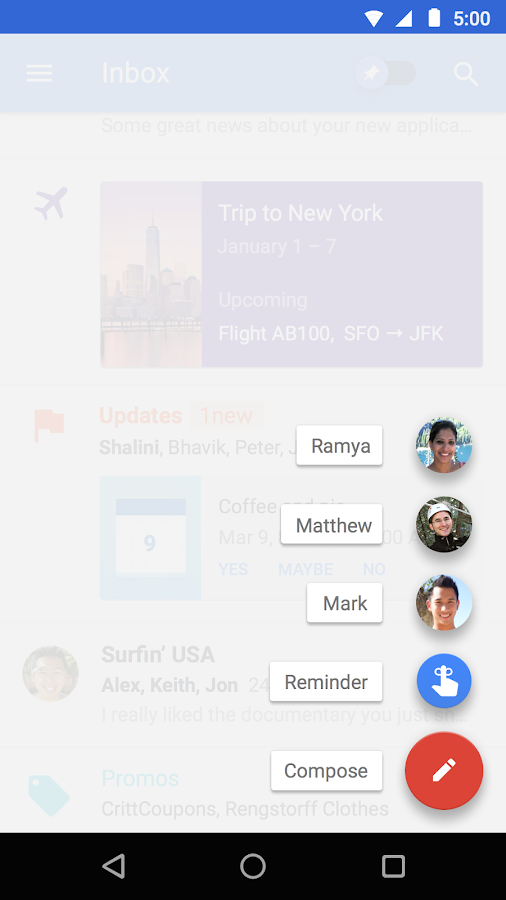 Inbox by Gmail- screenshot