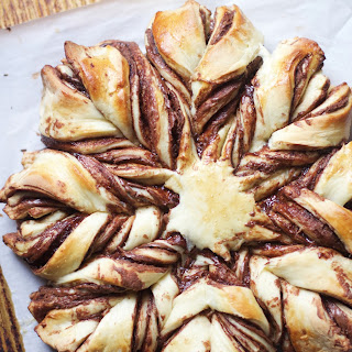 Braided Nutella Pastry.