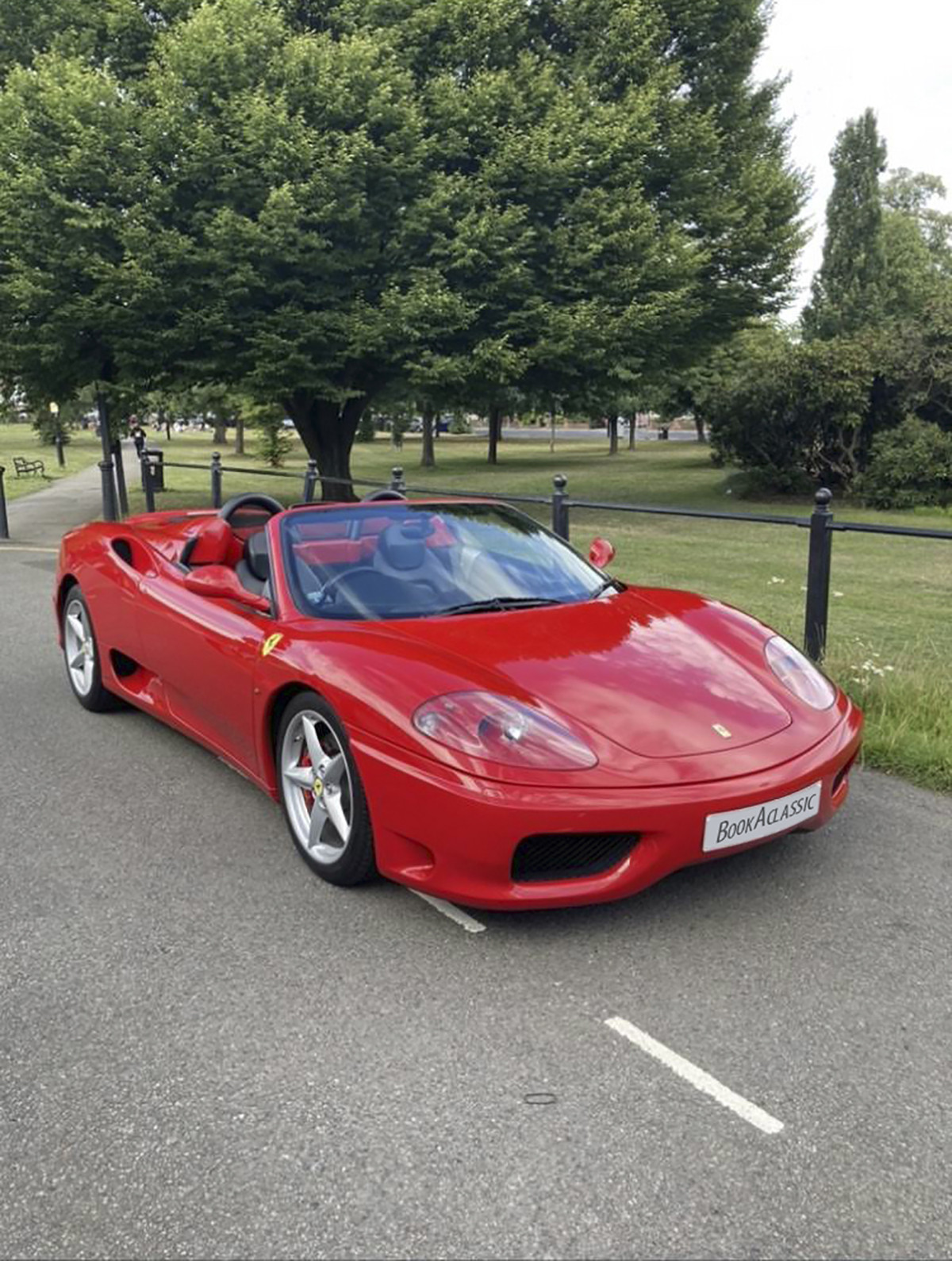 Ferrari 360 Spider Hire London
