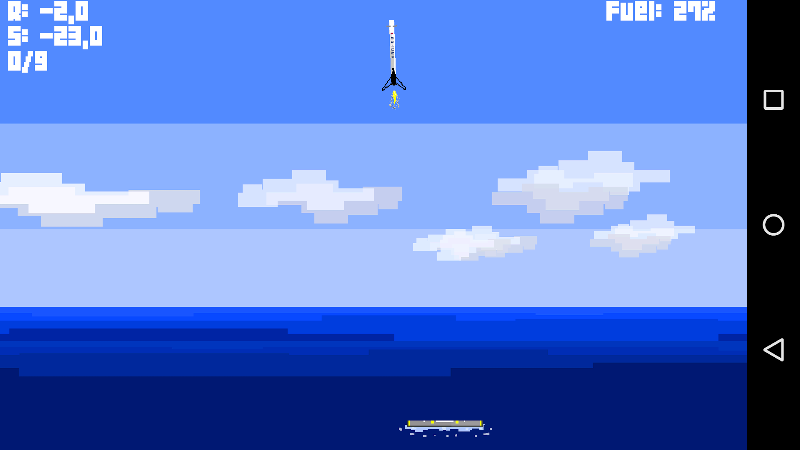 spacex falcon 9 rocket lander screenshot
