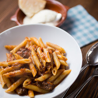 Penne with Beef