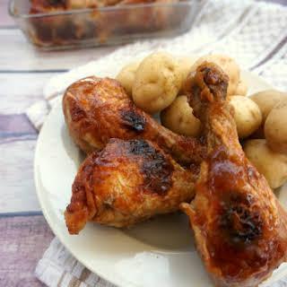 Honey BBQ Chicken Legs.