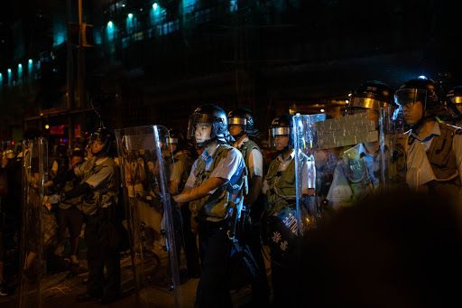 Firms in Hong Kong lament toll protests have taken on business