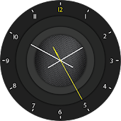 Watch Face Dark Grey