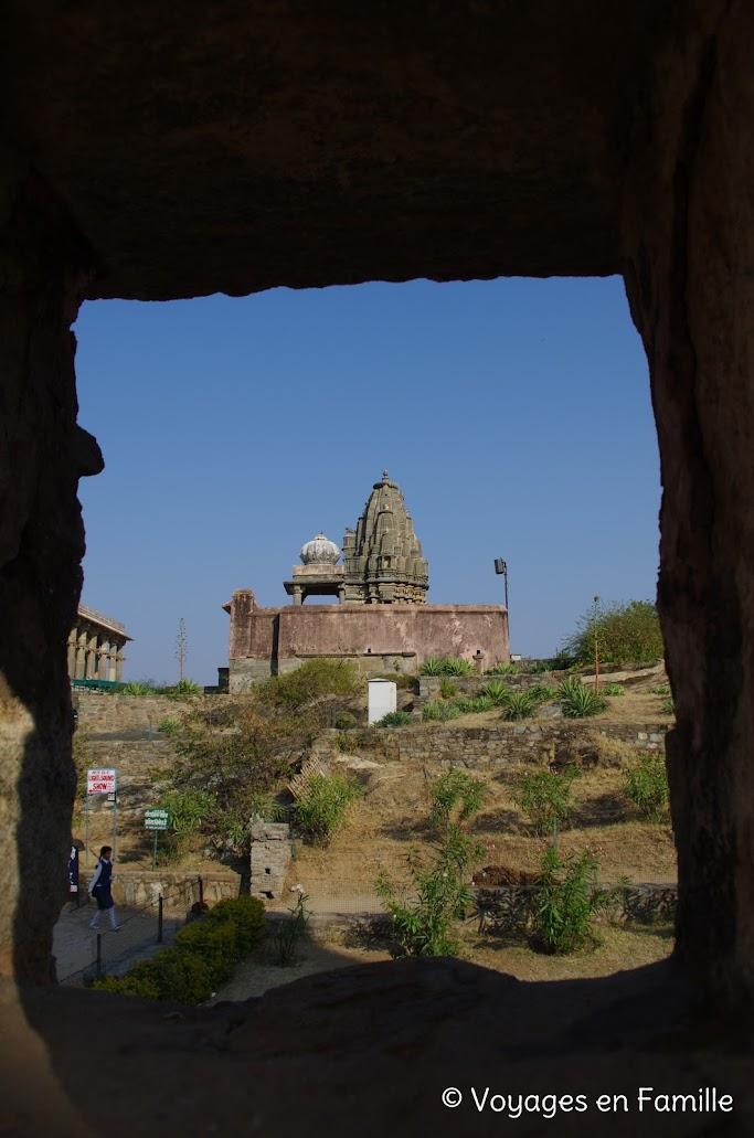 Kumbhalgarh, vue depuis Vedi temple