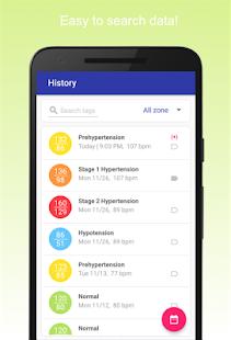 Dziennik ciśnienia krwi Screenshot