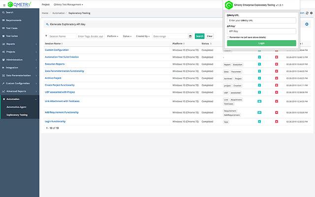 QMetry Test Management Exploratory Testing