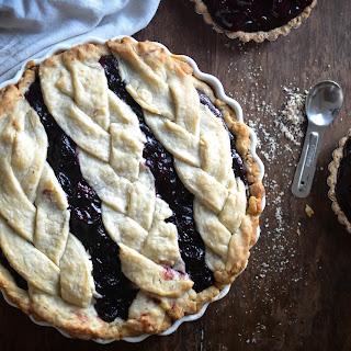 Black-Bottom Cherry Pie