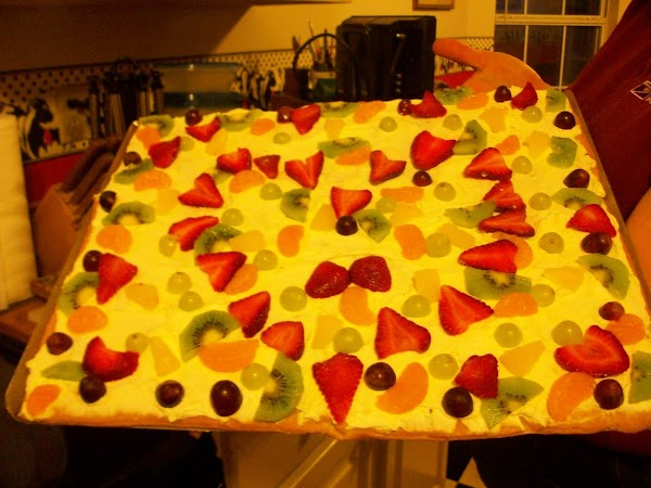 Fruit (or Veggie) Pizza Recipe