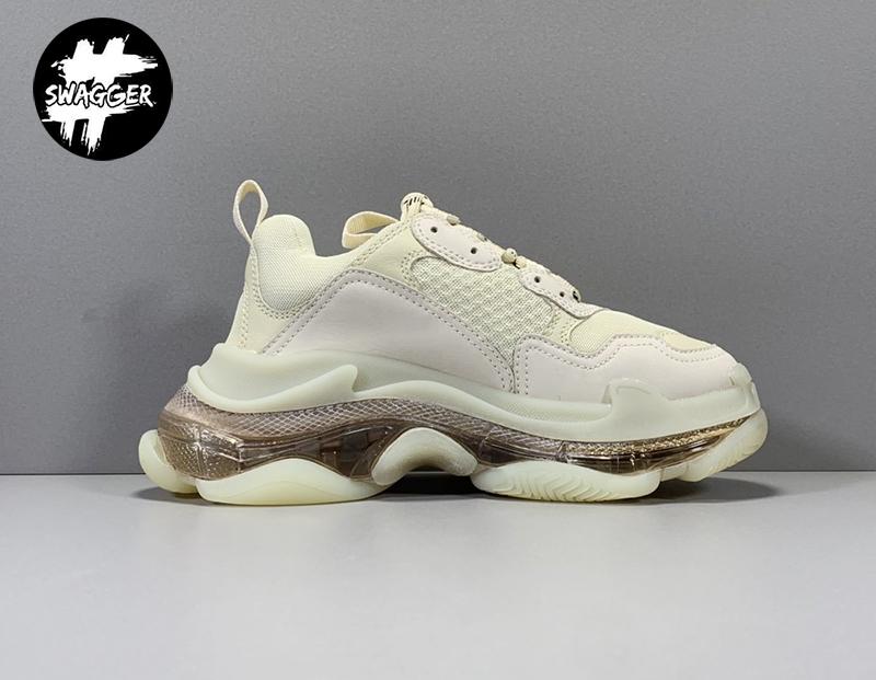 Hãy đến với swagger.com.vn để dễ dàng chọn giày balenciaga triple s clear like Auth chất lượng tốt