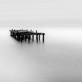 Lonely by Frodi Brinks - Landscapes Waterscapes
