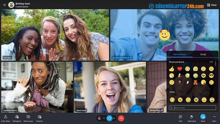 Skype được cập nhật thêm chủ đề tối