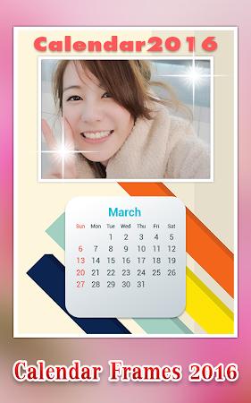 Calendar Photo Frame 2016 1.1 screenshot 428956