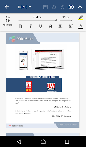 OfficeSuite 8 Pro Trial