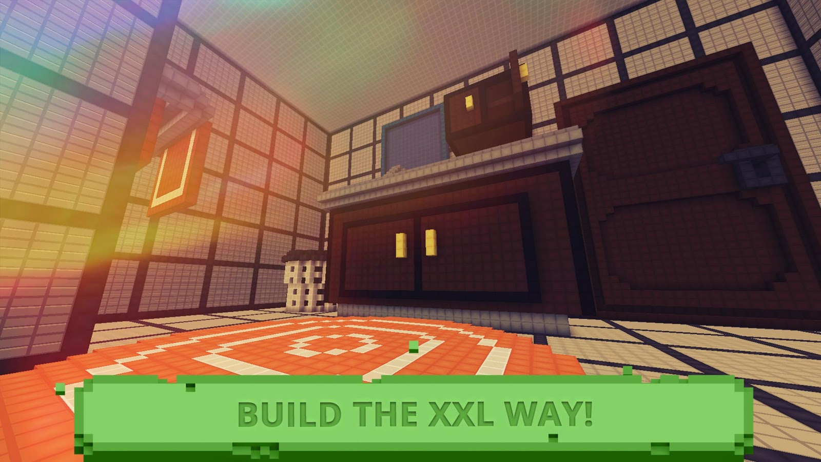 Tiny craft block exploration crafting game sim for Crafting and building 2