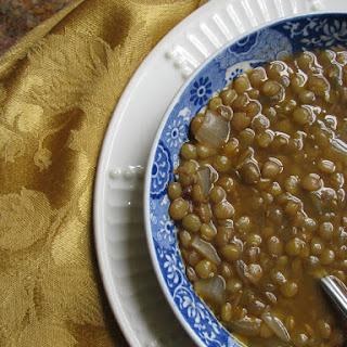 Five Minute Lentil Soup.