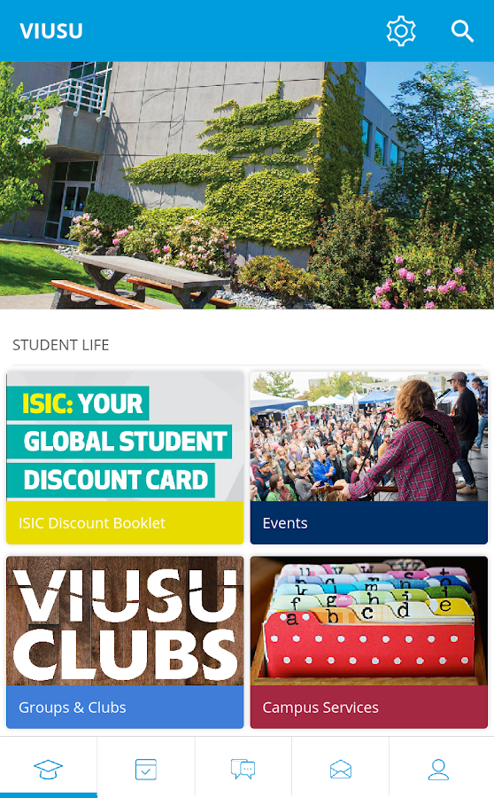 VIU Students' Union- screenshot