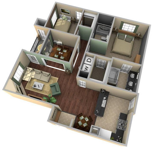 Download 3D House Floor Plan Ideas For PC