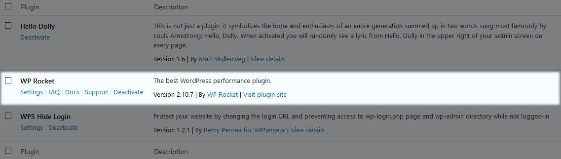 Cài đặt plugin cho WordPress thành công