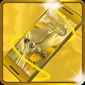 Golden launcher & wallpaper:Luxury & deluxe themes icon