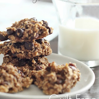 Guilt-Free Oatmeal Cookies.