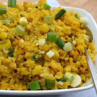Lemony Turmeric Cauliflower-Quinoa Recipe