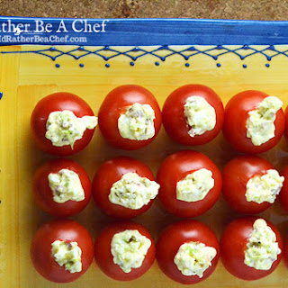 Stuffed Cherry Tomatoes BLT Style.