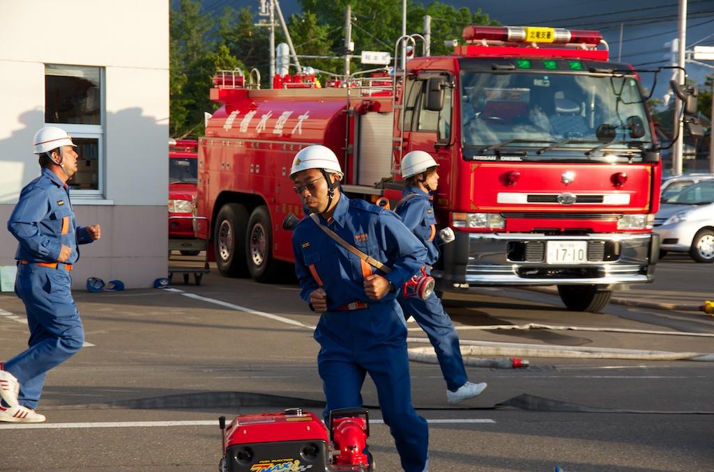 Photo: 北竜消防(深川地区消防組合 深川消防署北竜支署)