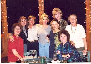 Photo: Carol (Craven) Barnes, Barbara (Novosad) Stueve, Linda (Wilson) Mitchell, Suzy (Wright) Thomas, Nancy (Seiler) McCarthy, Kathi (Hesson) Curtis, Michele (Baldree) Bibb, Carolyn (McGill) Hoelscher